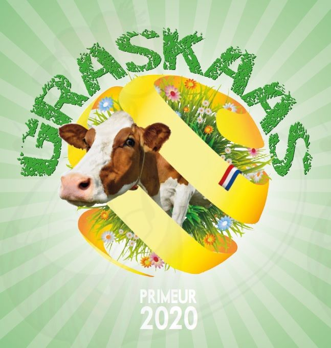PRIMEUR: GRASKAAS 2020 HEERLIJKE JONGE ROMIGE KAAS - EXTRA KWALITEIT!